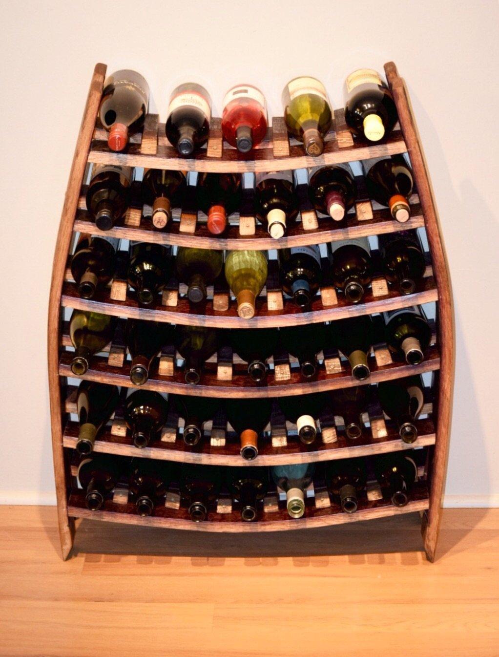 Wine Rack Up To 40 Bottles Leoni Montenegro